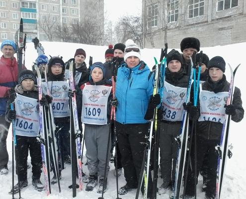 Лыжня России - или немного о спорте...