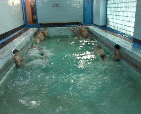 """18 марта состоялись соревнования на воде """"Веселые старты"""""""