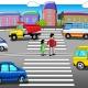 Информационная беседа: Правила пешеходов и водителей
