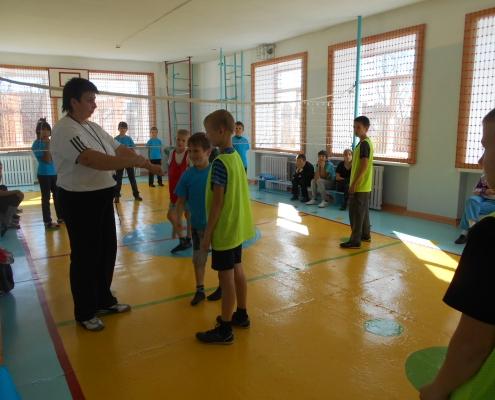 В школе прошло соревнование «Юный олимпиец»
