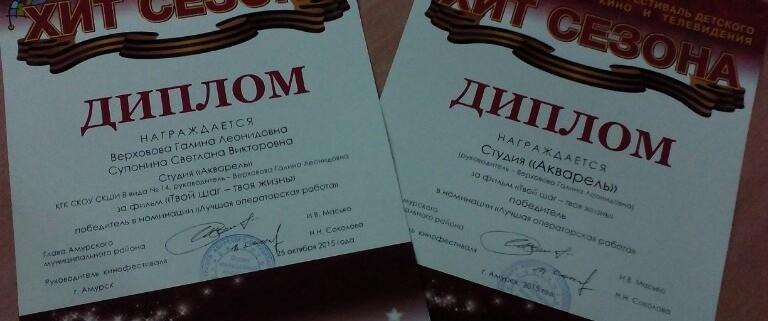 """Амурский кинофестиваль """"Хит сезона"""""""