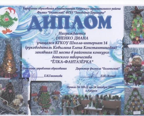 "Районный конкурс ""Елка-фантазерка"""