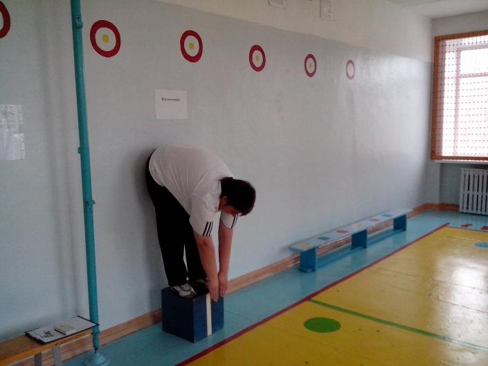 Все сотрудники школы проверили свои силы в пробной сдаче норм ГТО