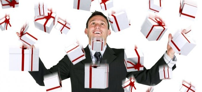 Дарить и получать подарки запрещено !!!