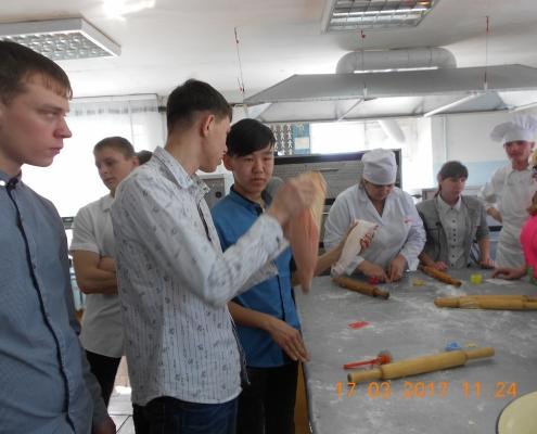 Экскурсия в политехничесий техникум