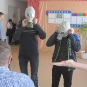 В школе прошли военно-спортивные игры