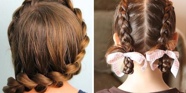 Школьная парикмахерская