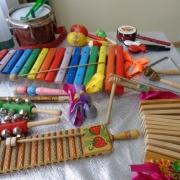Развитие чувства ритма посредством игры на шумовых инструментах