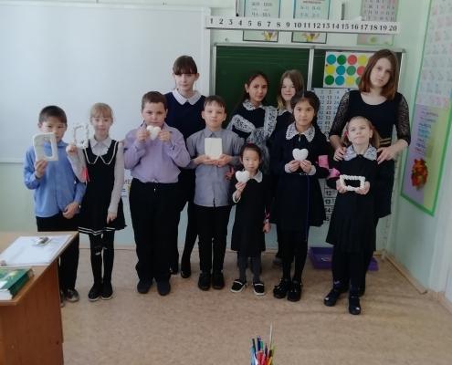 Волонтеры 8А класса