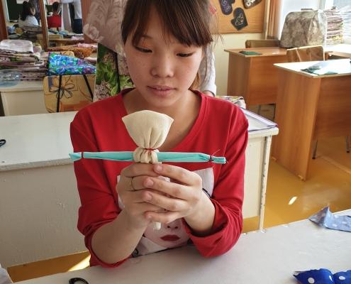 Изготовление кукол - оберегов