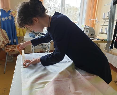 Изготовление постельного белья для интерната
