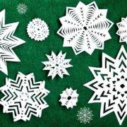 Урок практикум «Изготовление объемной снежинки»